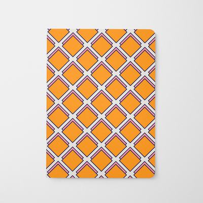 Journal Orange Parker Journal