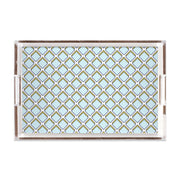 Lucite Trays 11x17 / Blue Parker Lucite Tray