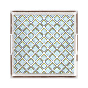 Lucite Trays 12x12 / Blue Parker Lucite Tray