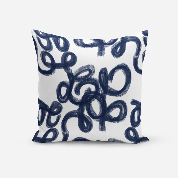 Pillows Navy / Without Insert / 20x20 Penelope Outdoor Pillow