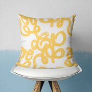 Pillows Yellow / With Insert / 20x20 Penelope Outdoor Pillow