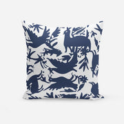 Pillows Navy / Broadcloth / 14x20 Otomi Pillow