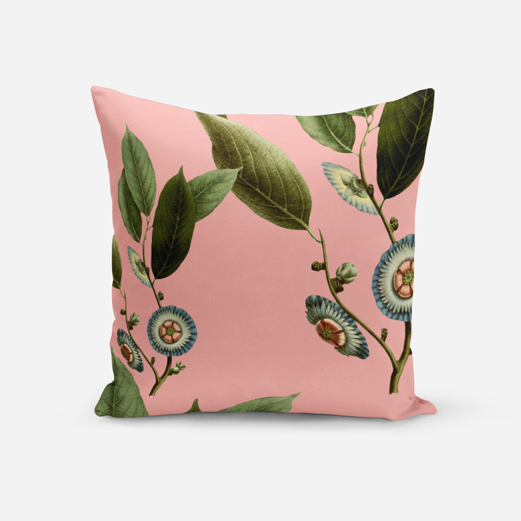 Pillows Pink / Broadcloth / 14x20 Medallion Leaves