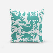 Pillows Teal / Broadcloth / 14x20 Otomi Pillow