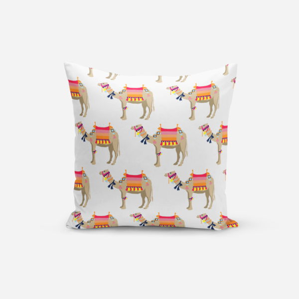 Pillows White / Broadcloth / 14x20 Camel Pillow