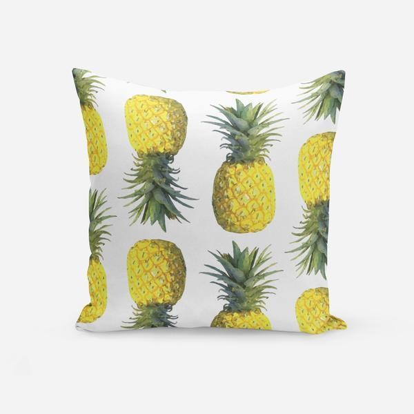 Pillows White / Broadcloth / 14x20 Pineapple Pillow