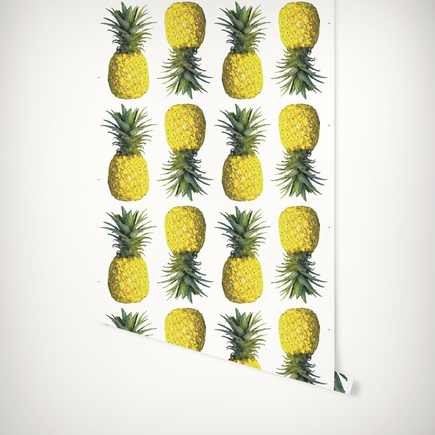 Wallpaper Double Roll Pineapples Wallpaper