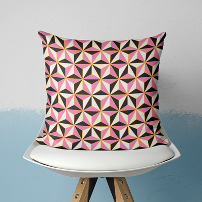 Pillows Pink / With Insert / 20x20 Riviera Outdoor Pillow