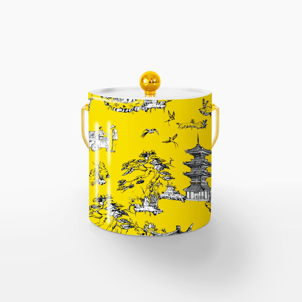 Ice Bucket Gold / Yellow Shangri La 3QT Ice Bucket