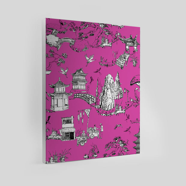 Gallery Prints Pink / 8x10 / Unframed Shangri La Toile Canvas