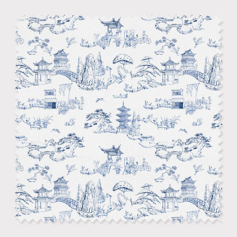 Fabric Shangri La Toile Fabric