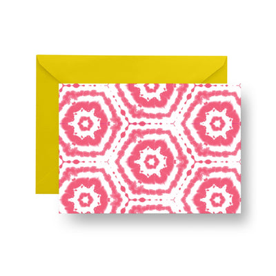 Folded Notecard Pink Spellbound Folded Notecard Set
