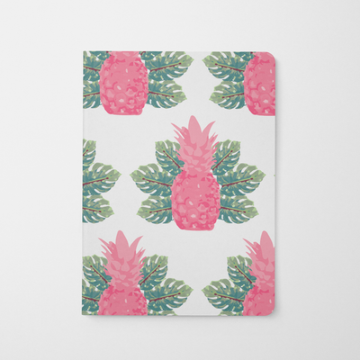 Journal Pink Spring Pineapples Journal