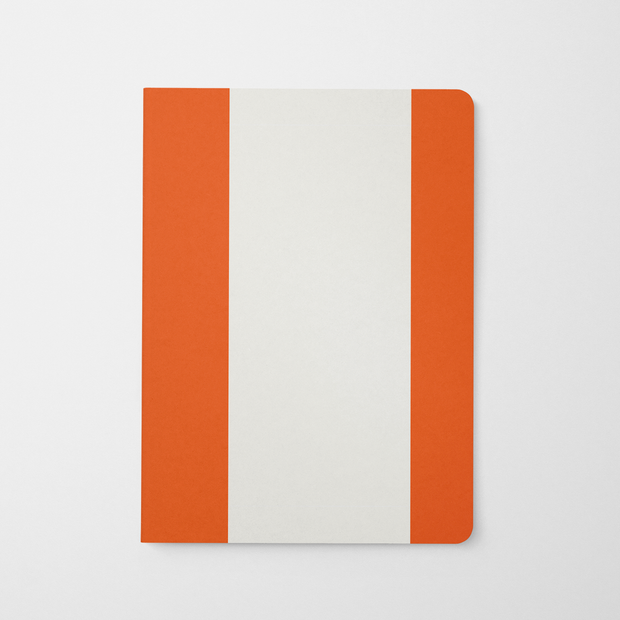 Journal Orange Stripes Journal