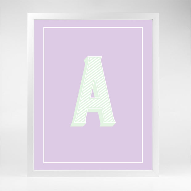 Gallery Prints A The Letter Series