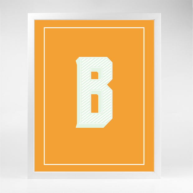 Gallery Prints B The Letter Series