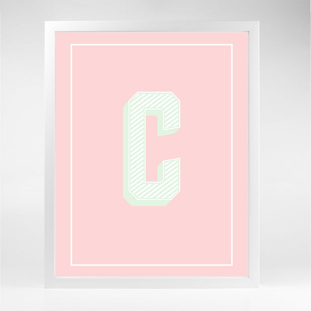 Gallery Prints C The Letter Series