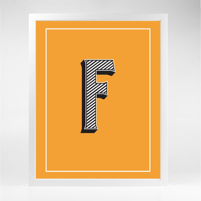 Gallery Prints F The Letter Series