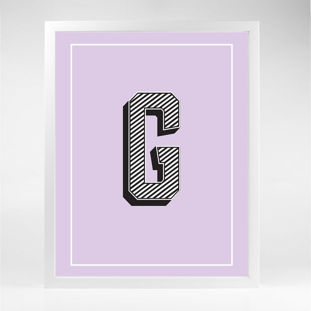 Gallery Prints G The Letter Series