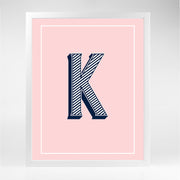 Gallery Prints K The Letter Series
