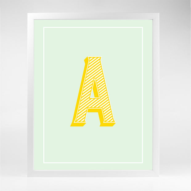 Gallery Prints The Letter Series
