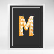 Gallery Prints M The Letter Series