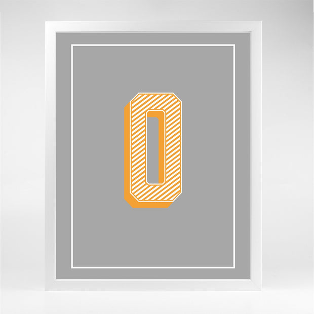 Gallery Prints O The Letter Series