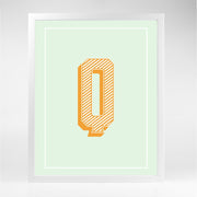 Gallery Prints Q The Letter Series