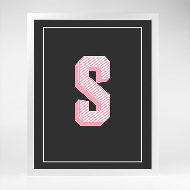 Gallery Prints R The Letter Series