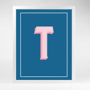 Gallery Prints T The Letter Series
