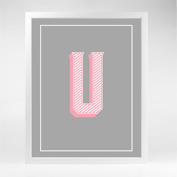 Gallery Prints U The Letter Series