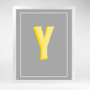 Gallery Prints Y The Letter Series