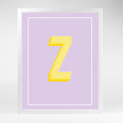 Gallery Prints Z The Letter Series