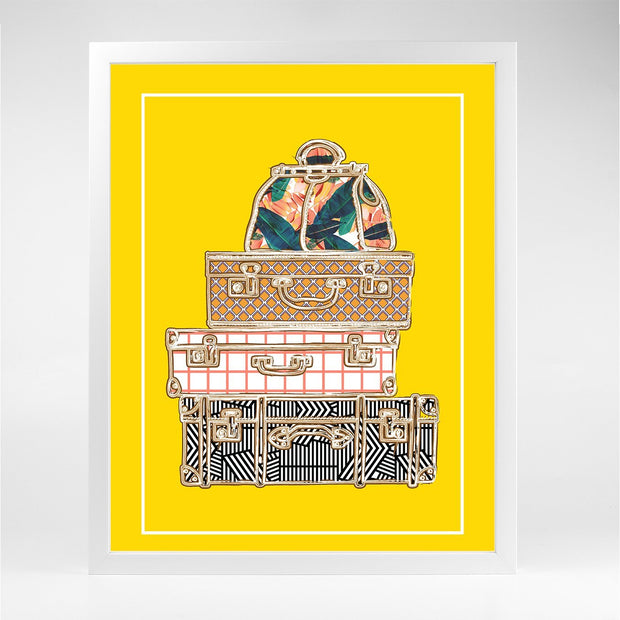 Gallery Prints The Suitcase Print