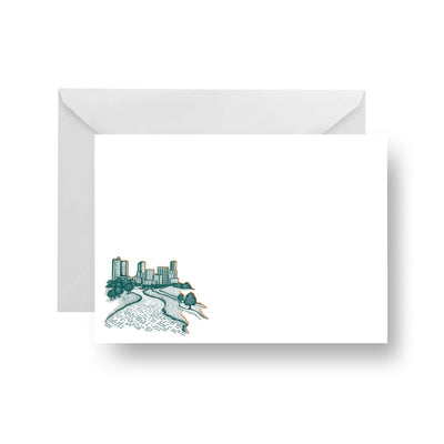 Flat Notecard Trinity River Flat Notecard Set