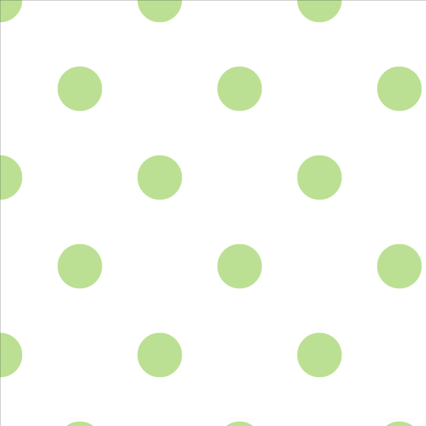 Wallpaper Double Roll / Lime Polka Dot Wallpaper