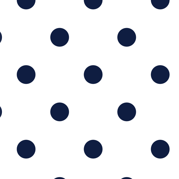 Wallpaper Double Roll / Navy Polka Dot Wallpaper