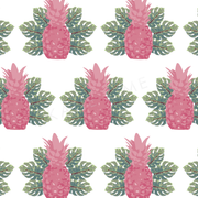 Wallpaper Double Roll Spring Pineapples Wallpaper