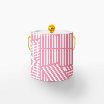 Ice Bucket Gold / Pink Wayfinder 3QT Ice Bucket