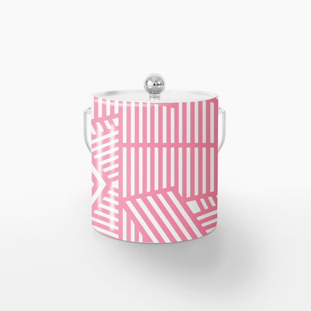 Ice Bucket Silver / Pink Wayfinder 3QT Ice Bucket