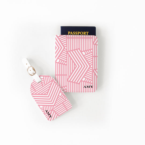 Passport Set Pink Wayfinder Passport Set