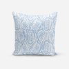 Pillows Light Blue / Broadcloth / 14x20 Zebra Pillow