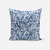 Pillows Navy / Broadcloth / 14x20 Zebra Pillow