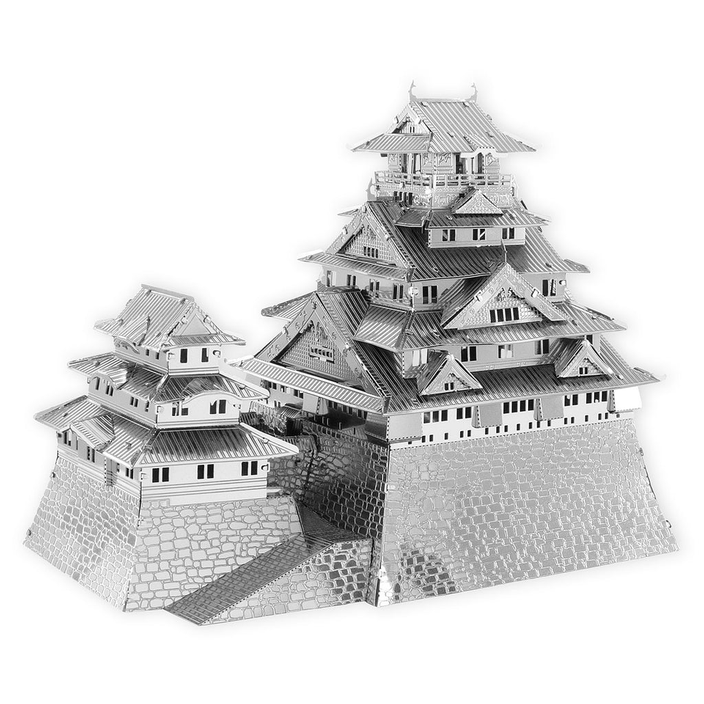 Fascinations Metal Earth 3D ICONX Laser Cut Model Osaka Castle
