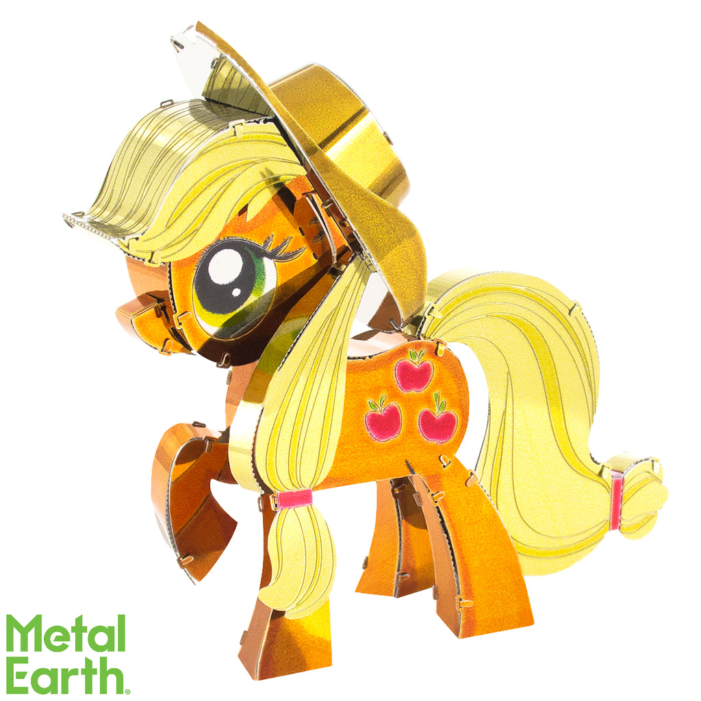 Fascinations Metal Earth 3D Laser Cut Model Kit My Little Pony - Apple Jack