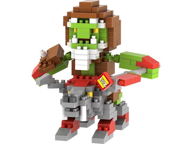 LOZ Diamond Blocks World of Warcraft 250 piece Orcs Prophet