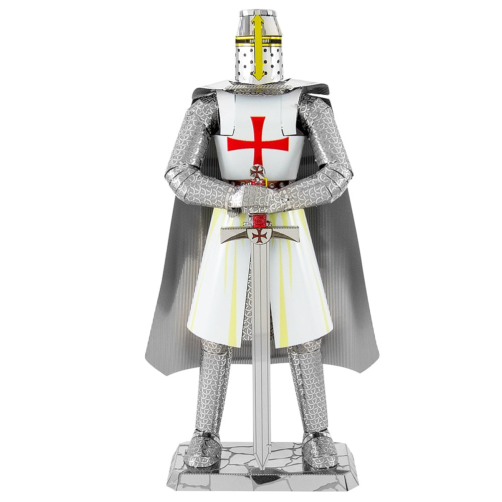 Fascinations Metal Earth 3D ICONX Laser Cut Model Kit - Templar Knight