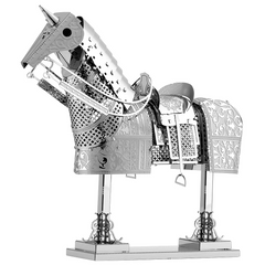 Metal Earth 3D Laser Cut Steel Model Building Kit - Horse Armor