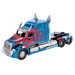 Metal Earth ICONX 3D Laser Cut Model Kit Optimus Prime Western Star 5700 Truck