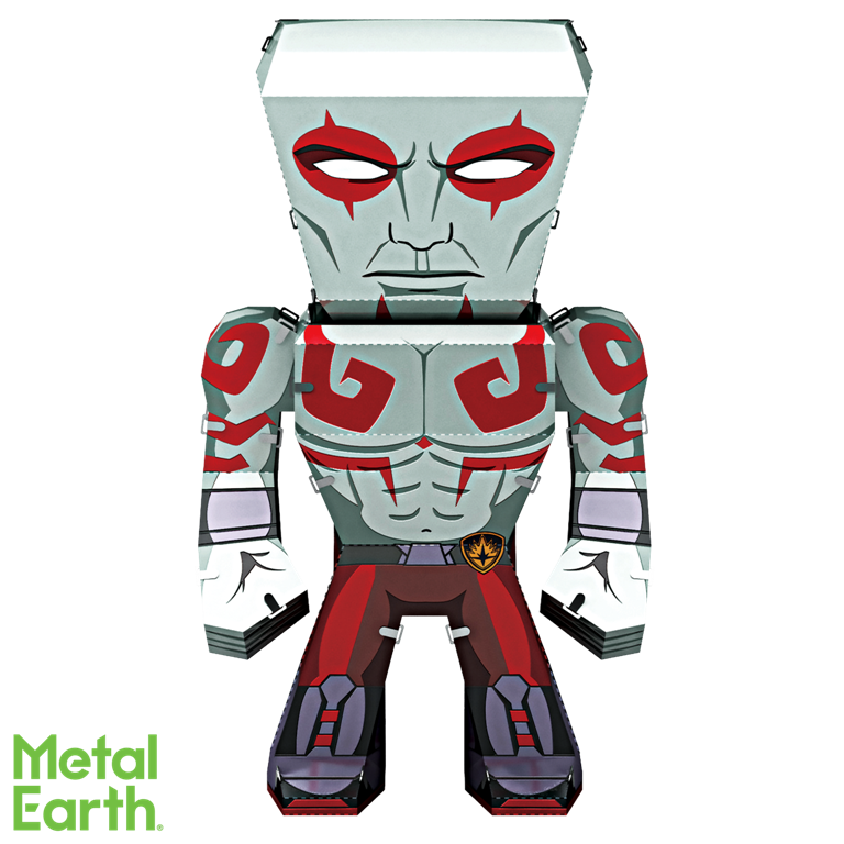 Metal Earth Legends Mini Caricature Model - Drax